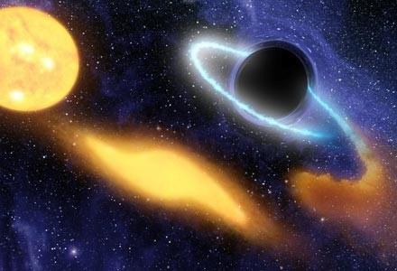 Niektórzy obawiają się, że LHC wytworzy czarną dziurę, która zniszczy Ziemię... /AFP