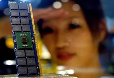 Niektórzy skorzystali na wzroście sprzedaży pamięci DRAM /AFP