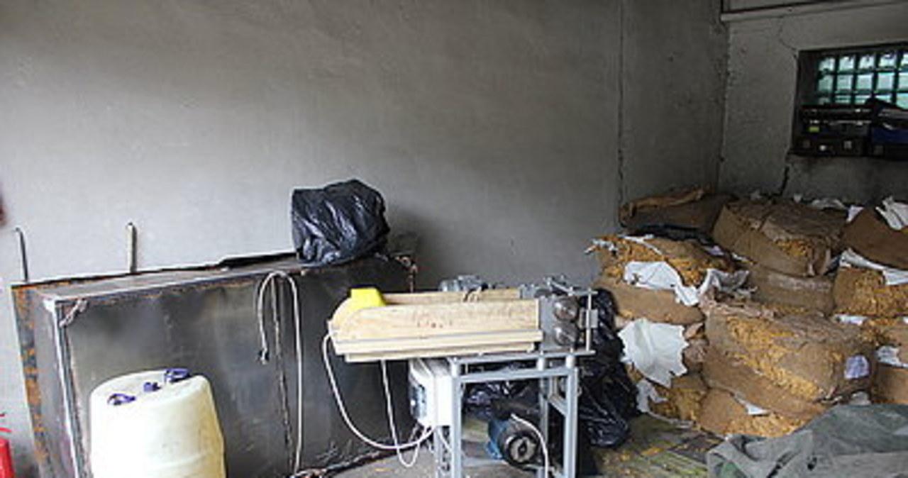 Nielegalna wytwórnia tytoniu w Rudzie Śląskiej zlikwidowana