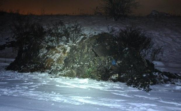 Nielegalne odpady w Wojkowicach. Zatrzymano 4 osoby