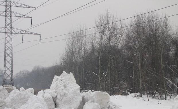 Nielegalne składowisko śniegu w Poznaniu