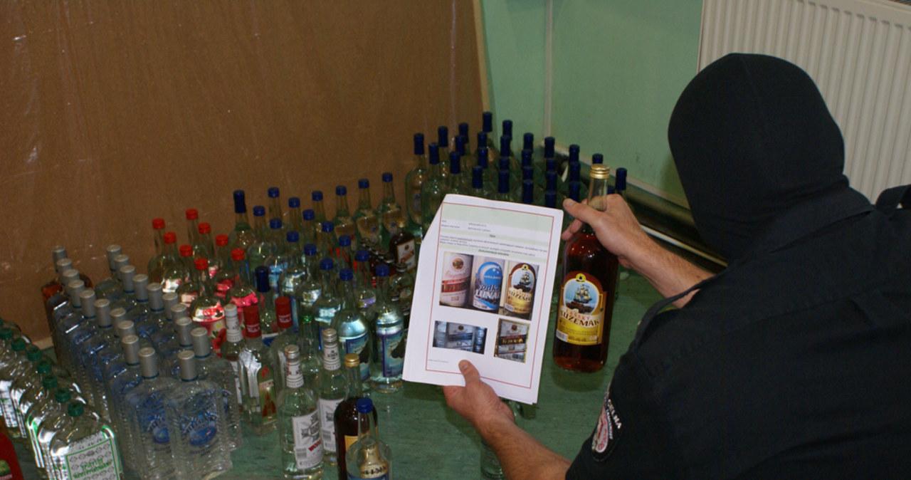 Nielegalny alkohol zarekwirowany w Kielcach