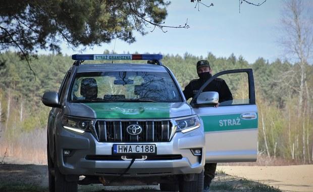 Nielegalny imigrant zginął podczas próby przejścia polskiej granicy. Złapano jego towarzyszy
