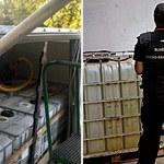 Nielegalny olej napędowy przewożony w niebezpieczny sposób. 2 osoby zatrzymane