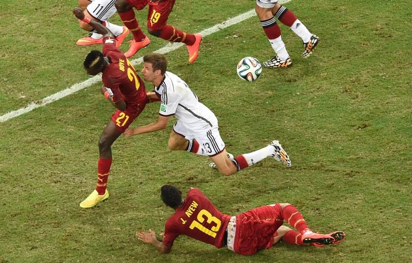 Niemcom nie udało się pokonać Ghany w drugim meczu mundialu w Brazylii /AFP
