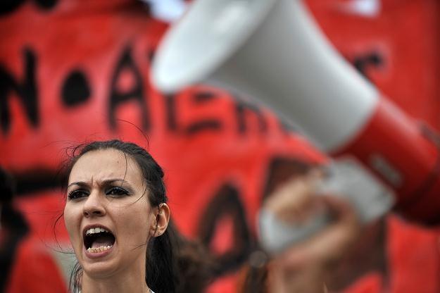 Niemcy apaeluja o pomoc dla Grecji /AFP