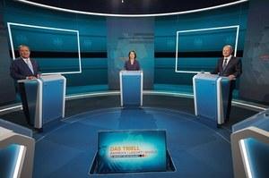 Niemcy: Debata kandydatów na kanclerza. Wśród tematów koronawirus, Afganistan i klimat