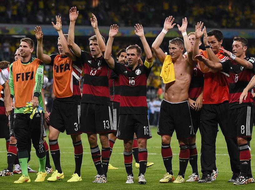 Niemcy - faworyci finału według trenera Kaczmarka /AFP