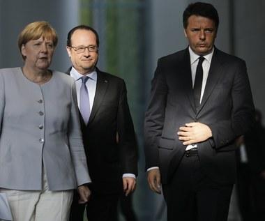 """Niemcy, Francja i Włochy chcą zaproponować """"nowy impuls"""" dla UE"""