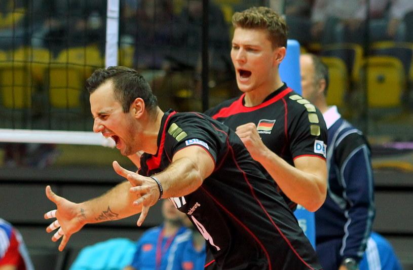 Niemcy Gyorgy Grozer i Lukas Immanuel Kampa /Piotr Wittman /PAP