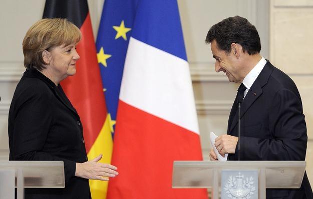 Niemcy i Francja obecnie rozdają karty w UE /AFP
