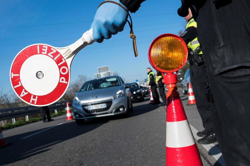 Niemcy, kontrola policyjna /SEBASTIEN BOZON/AFP/East News /East News