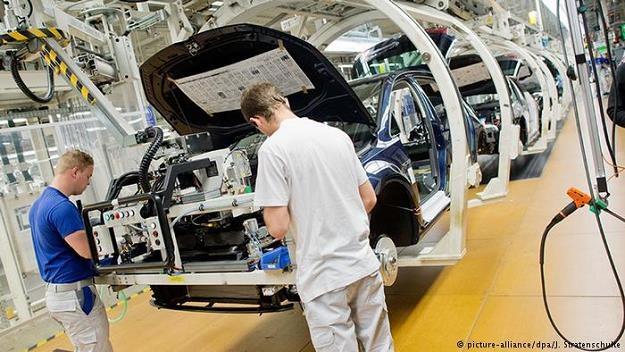 Niemcy krytykowane są za nadwyżkę handlową /Deutsche Welle