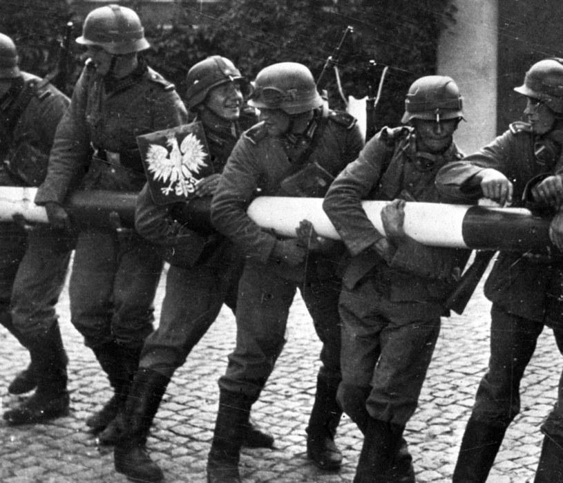 Niemcy na polskiej granicy 1 września 1939 roku /archiwum /PAP