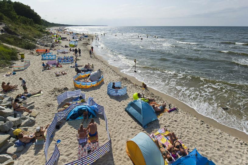 Niemcy nie przyjeżdżają już tak licznie nad polskie morze. Zdj. ilustracyjne /Stanisław Bielski /Reporter