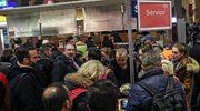 Niemcy: Pasażerowie utknęli na dworcach. Powodem orkan