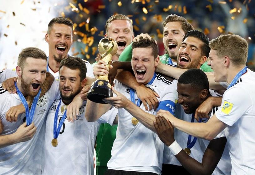 Niemcy po raz pierwszy w historii zdobyli Puchar Konfederacji FIFA /PAP/EPA