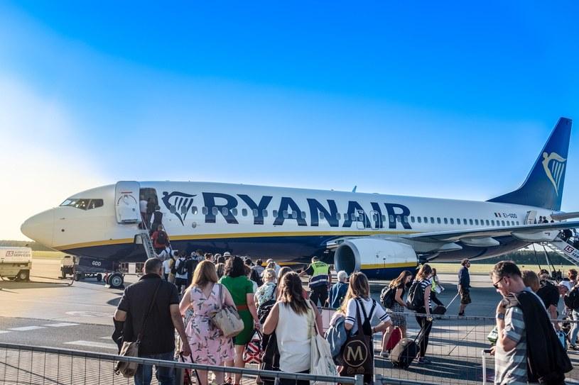 Niemcy: Po zapowiedzi strajku pilotów Ryanair odwołał 250 lotów /Grzegorz Banaszak /Reporter