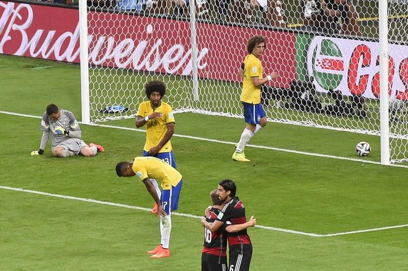 Niemcy rozbili Brazylię w półfinale mistrzostw świata /AFP