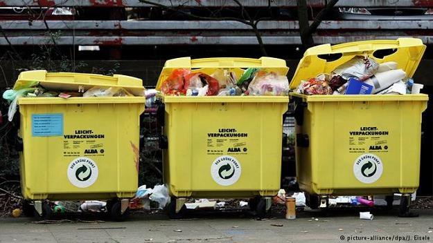 Niemcy są mistrzem w sortowaniu odpadów /Deutsche Welle