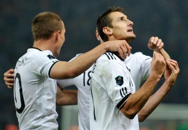 Niemcy są o krok od awansu do Euro 2012 /AFP