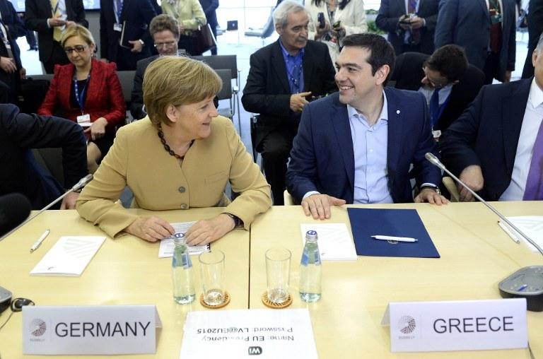 """Niemcy są """"wielkim beneficjentem"""" kryzysu w Grecji /AFP"""