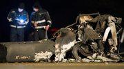 Niemcy: Śmigłowiec spadł na autostradę; zginął pilot