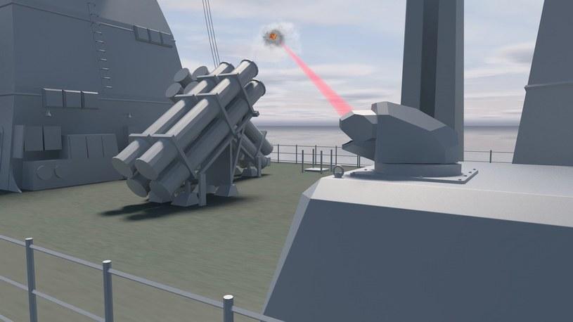 Niemcy stworzą wysokoenergetyczny laser dla swojej marynarki /materiały prasowe