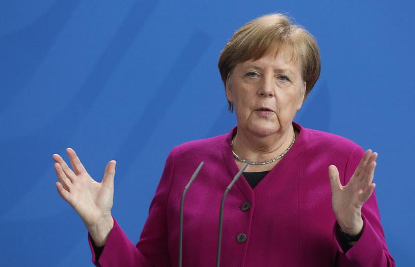Niemcy: W czasie epidemii COVID-19 rosną notowania kanclerz Angeli Merkel i rządu /Adam Berry /Getty Images