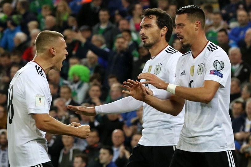 Niemcy w znakomitym stylu awansowali na mundial w Rosji /AFP