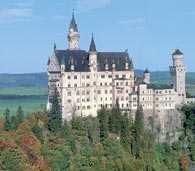 Niemcy, zamek Neuschwanstein /Encyklopedia Internautica
