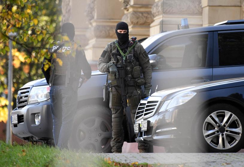 Niemieccy antyterroryści /Uli Deck / dpa  /AFP
