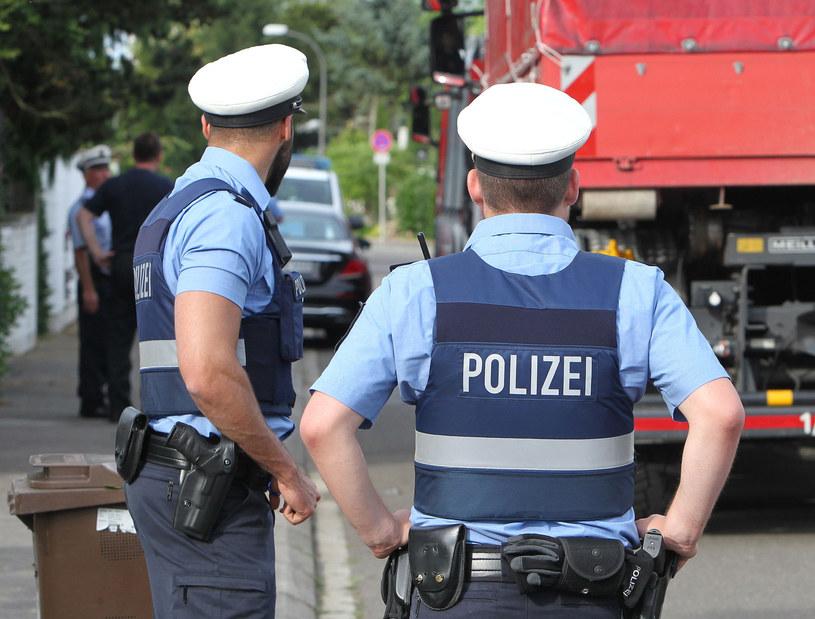 Niemieccy policjanci, zdjęcie ilustracyjne /AFP
