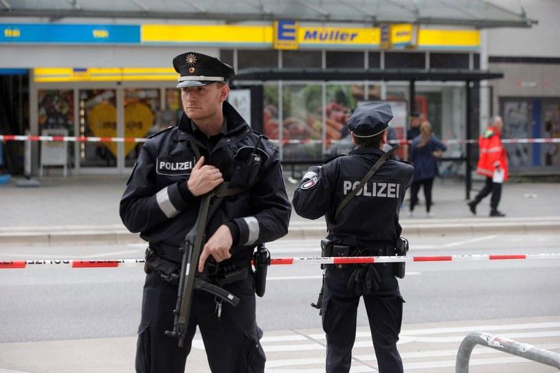 Niemieccy policjanci; zdjęcie ilustracyjne /AFP