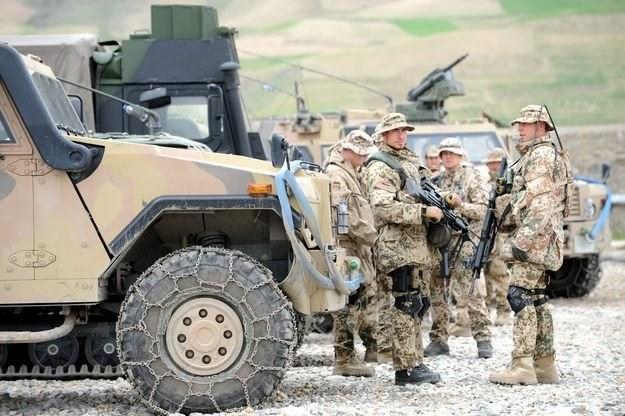 Niemieccy żołnierze w Afganistanie /AFP