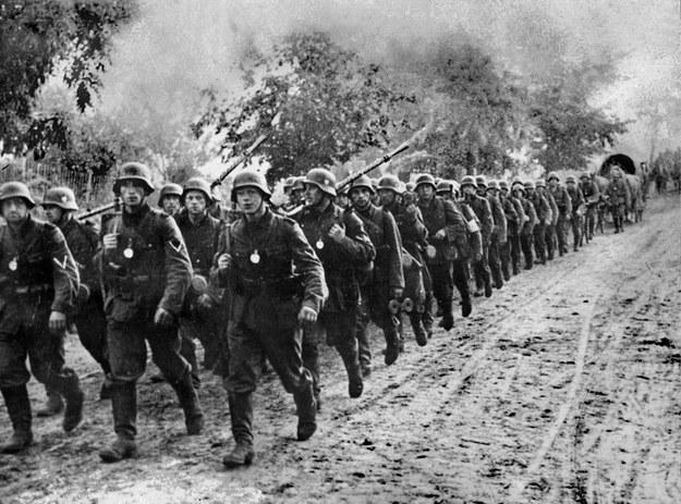 Niemieccy żołnierze w Polsce we wrześniu 1939 roku /AFP