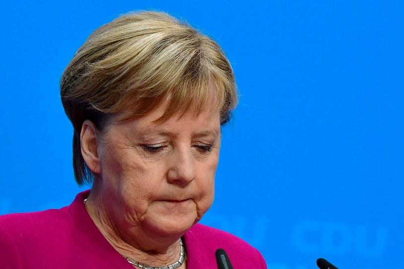 Niemiecka kanclerz Angela Merkel znów doznała ataku drgawek, po raz trzeci w ostatnim okresie /AFP