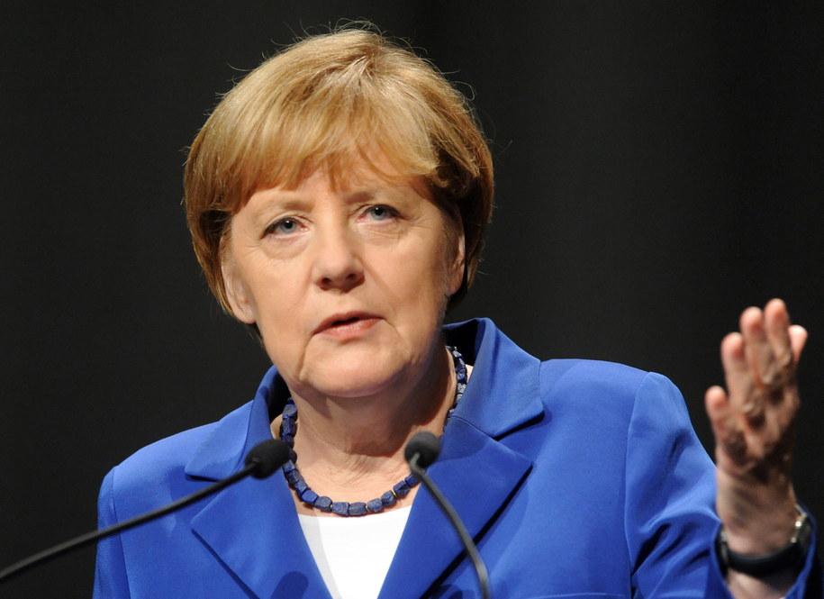 Niemiecka kanclerz na szczycie G20 /Ross Setford /PAP/EPA