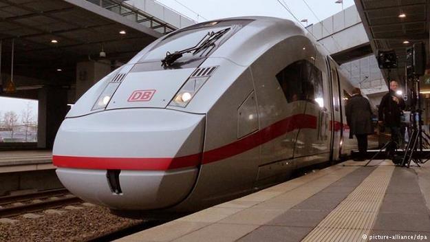 Niemiecka kolej może pochwalić się nową superszybką trasą /Deutsche Welle
