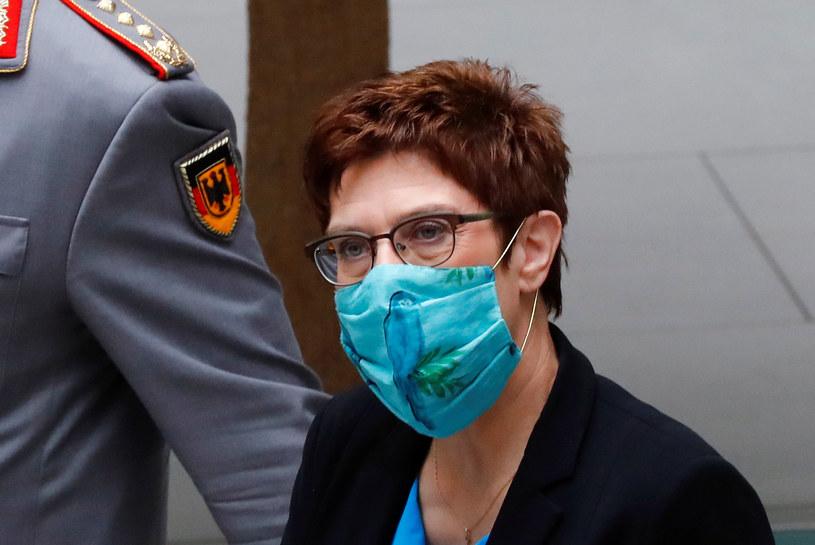 Niemiecka minister obrony Annegret Kramp-Karrenbauer /Fabrizio Bensch /AFP