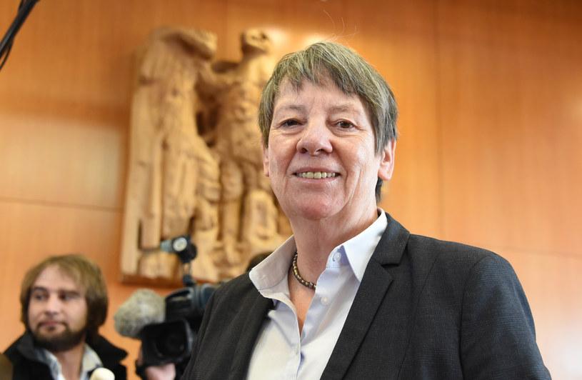 Niemiecka minister ochrony środowiska Barbara Hendricks /AFP