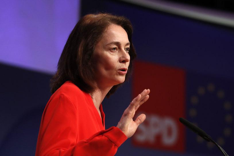Niemiecka minister sprawiedliwości Katarina Barley /ODD ANDERSEN /AFP