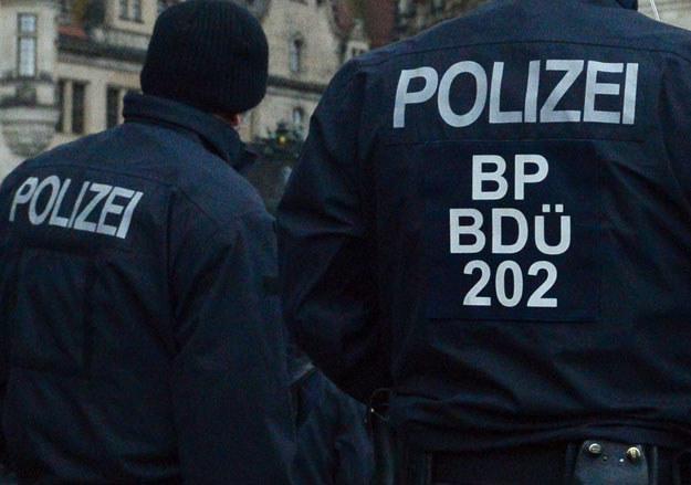 Niemiecka policja postawiona została w stan gotowości fot. John Macdougall /AFP
