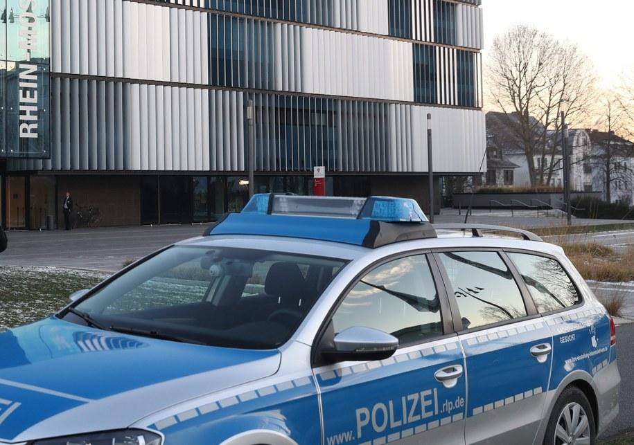 Niemiecka policja. Zdj. ilustracyjne /SASCHA DITSCHER /PAP