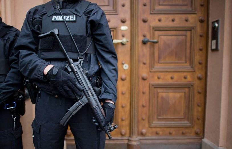 Niemiecka policja; zdj. ilustracyjne /AFP