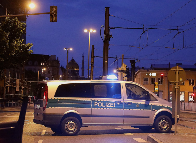 Niemiecka policja; zdj. ilustracyjne /TINO PLUNERT / DPA /AFP