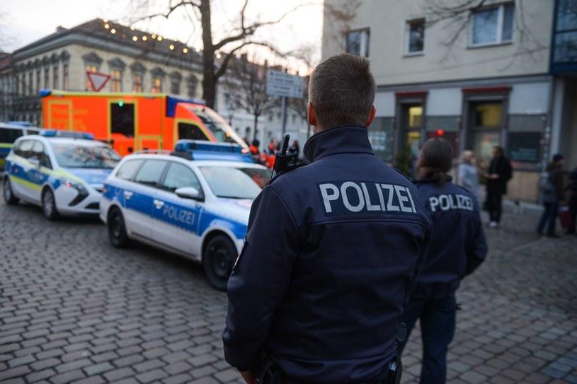 Niemiecka policja, zdjęcie ilustracyjne /AFP