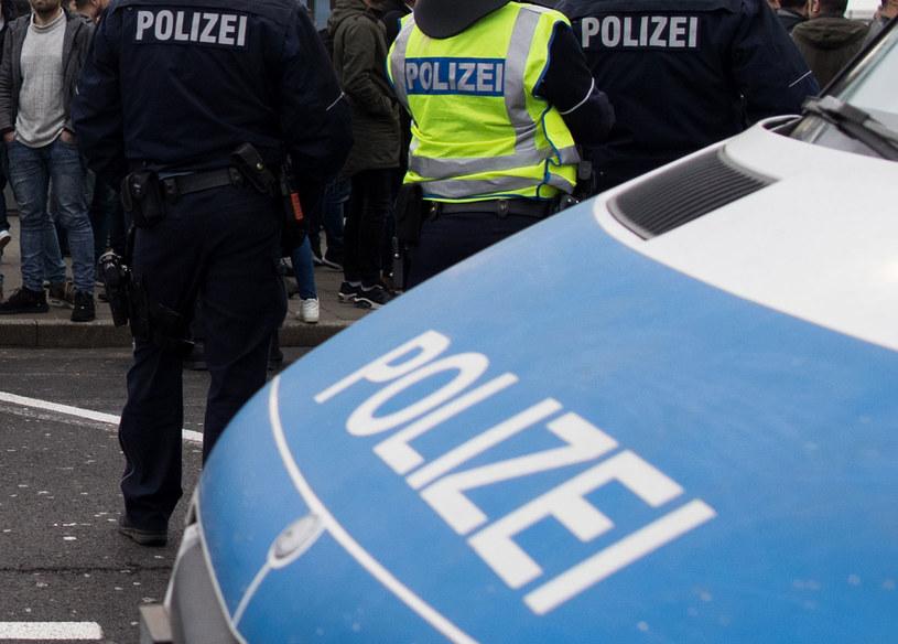 Niemiecka policja, zdjęcie ilustracyjne /MARCEL KUSCH /AFP