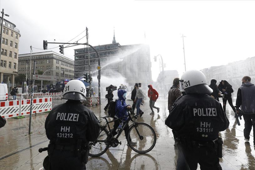 Niemiecka policja, zdjęcie ilustracyjne /MORRIS MAC MATZEN /AFP