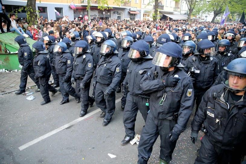 Niemiecka policja /AFP